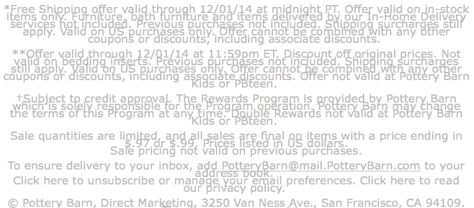Pottery Barn Cyber Monday Ad - Page 3