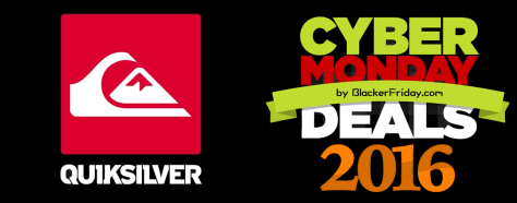 Quicksilver Cyber Monday 2016