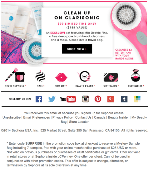 Sephora Cyber Monday Ad - Page 4