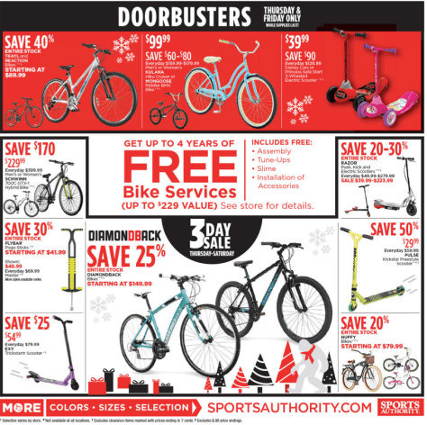 Sports Authority Black Friday 2015 Ad - Page 5