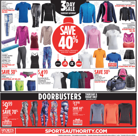 Sports Authority Black Friday 2015 Ad - Page 8