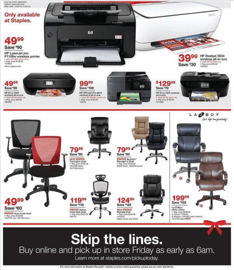 Staples Black Friday 2015 Ad - Page 8