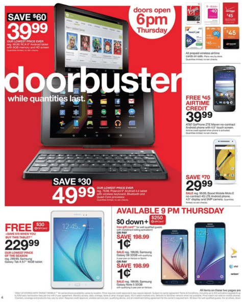 Target Black Friday 2015 Ad - Page 3