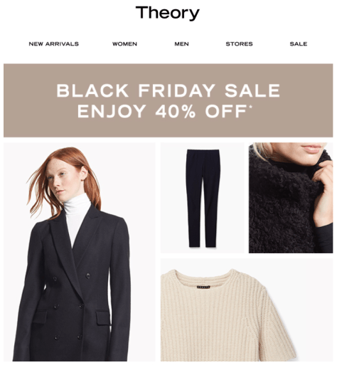 Theory Black Friday 2015 Ad - Page 1
