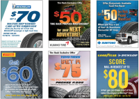 Tire Rack Cyber Monday 2018 Sale & Rebates