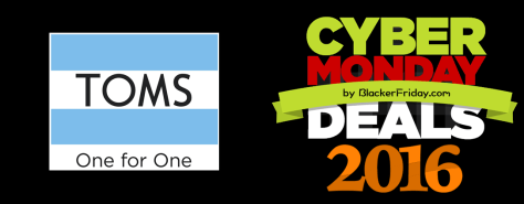 Toms Cyber Monday 2016