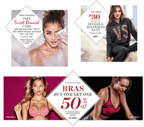 Victorias Secret Cyber Monday 2015 Ad - Page 2