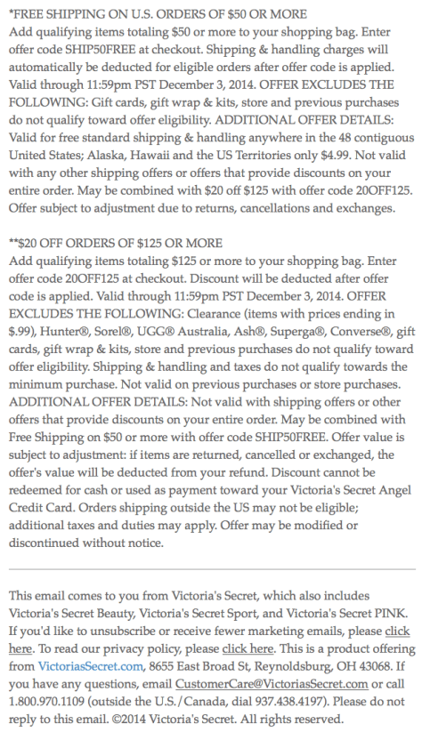 Victorias Secret Cyber Monday Ad - Page 5