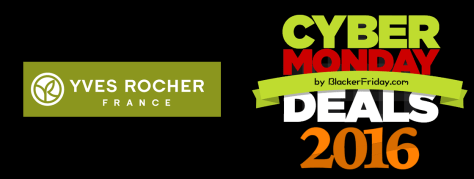 Yves Rocher Cyber Monday 2016