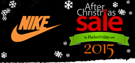 Nike After Christmas Sale 2015