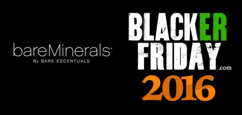 Bare Minerals Black Friday 2016