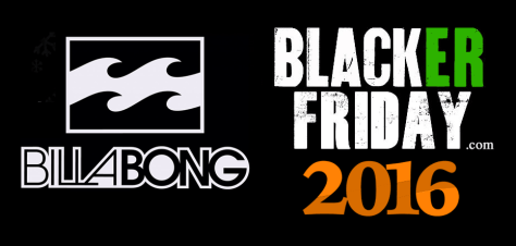 Billabong Black Friday 2016