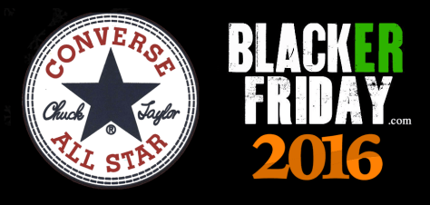 Converse Black Friday 2016