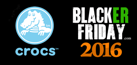 Crocs Black Friday 2016