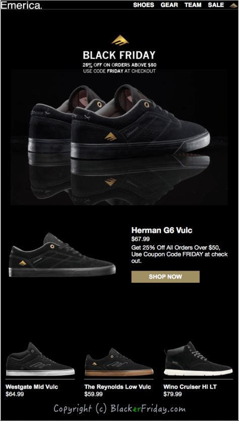 Emerica Black Friday Ad Scan - Page 1