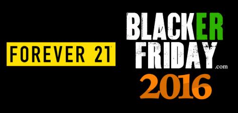 Forever 21 Black Friday 2016