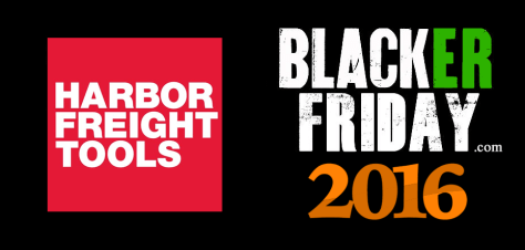 Harbor Freight Tools Black Friday 2016