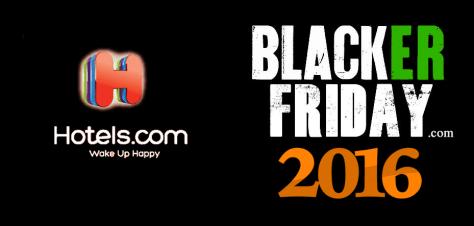 Hotels com Black Friday 2016
