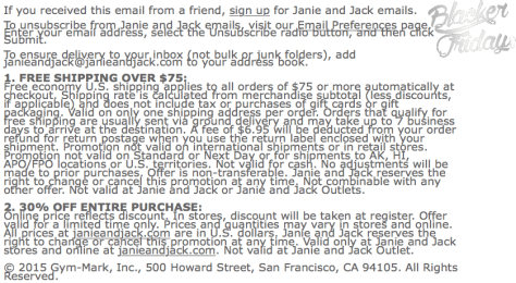 Janie and Jack Black Friday Sale - Page 2