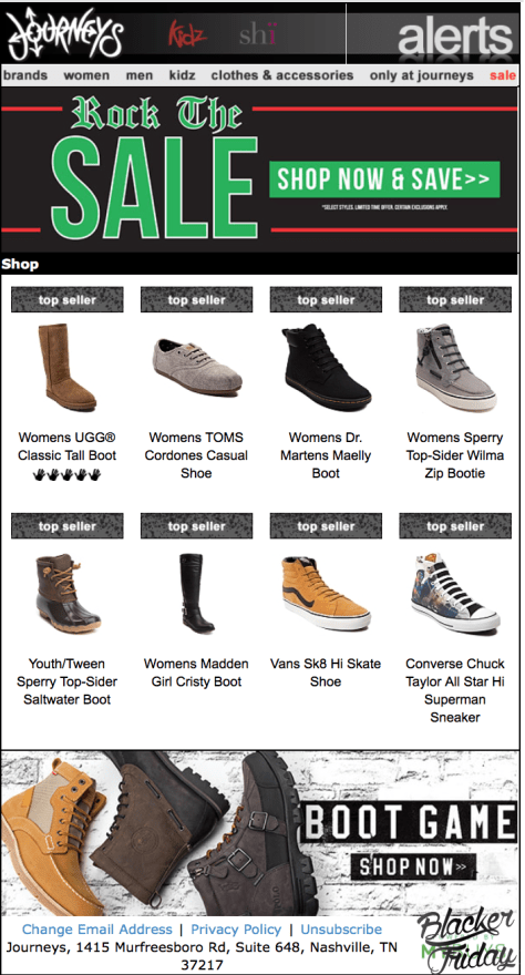 Journeys Black Friday Sale - Page 1