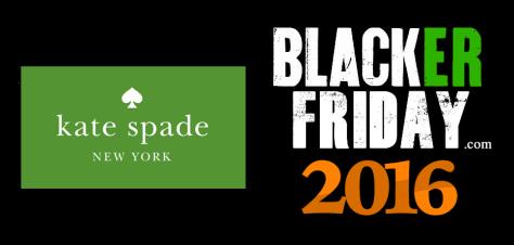 Kate Spade Black Friday 2016