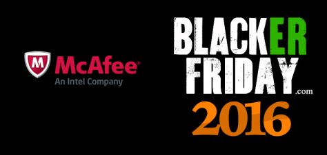 Mcafee Black Friday 2016