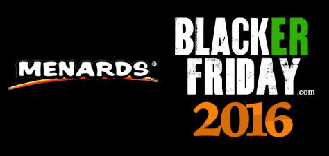 Menards Black Friday 2016