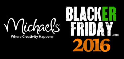 Michaels Black Friday 2016