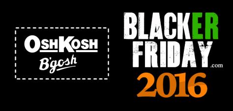 Osh Kosh Black Friday 2016
