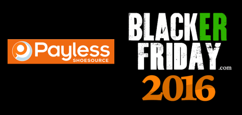 Payless Shoes Black Friday 2016