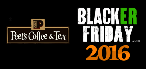 Peets Coffee Black Friday 2016