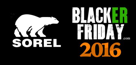 Sorel Black Friday 2016