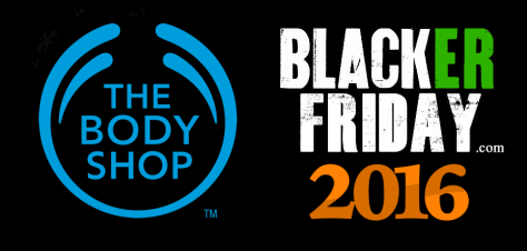The Body Shop Black Friday 2016