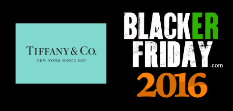 Tiffany Co Black Friday 2016