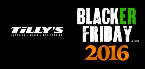 Tillys Black Friday 2016