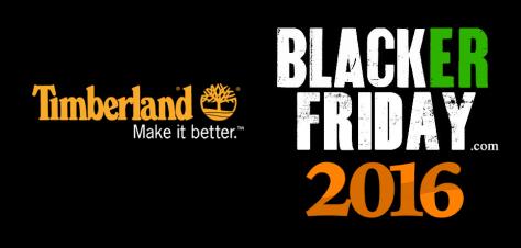 Timberland Black Friday 2016
