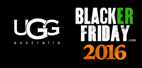 UGG Australia Black Friday 2016