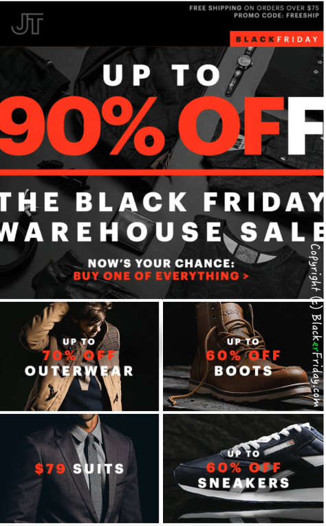 Jack Threads Black Friday Ad - Page 1