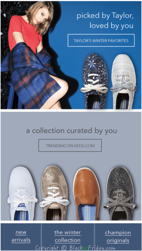Keds Cyber Monday Ad Scan - Page 2