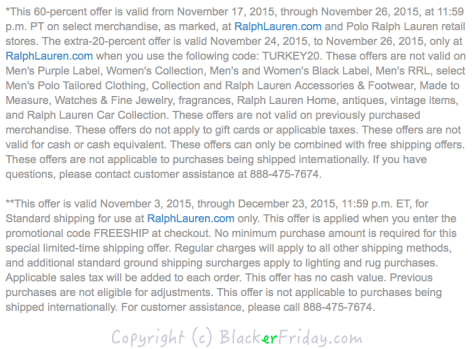 Ralph Lauren Black Friday Ad - Page 2