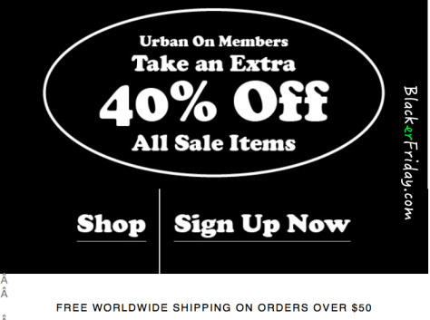 Urban Outfitters Black Friday Ad - Page 2