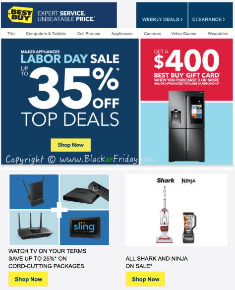 Best Buy Labor Day 2016 Sale Flyer - Page 1