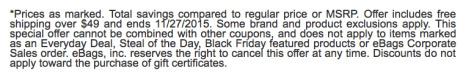 Ebags Black Friday Ad Scan - Page 11