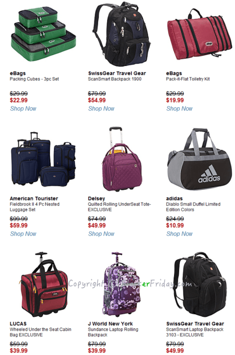 Ebags Black Friday Ad Scan - Page 4