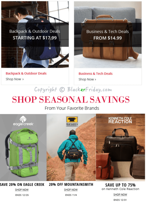 Ebags Black Friday Ad Scan - Page 8