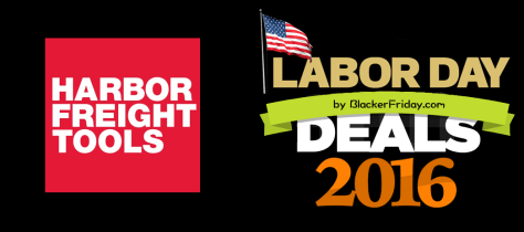 Harbor Freight Tools Labor Day 2016