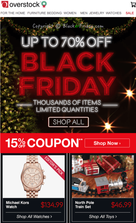 Overstock Black Friday Ad Scan - Page 1