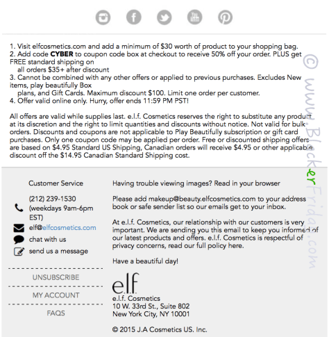 ELF Cyber Monday Sale Ad Scan - Page 2