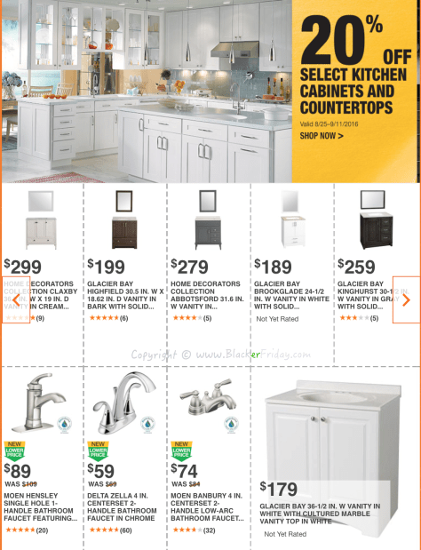 Home Depot Labor Day 2016 Sale Flyer - Page 7