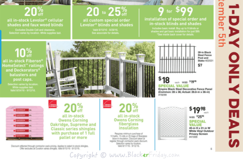 Lowes Labor Day 2016 Sale Flyer - Page 10